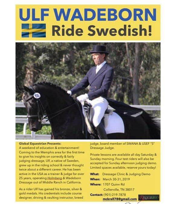 Ride Swedish event in TN